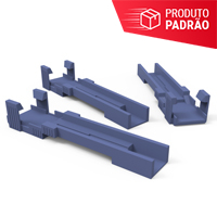 KIT COM 10 GUIAS PARA CONECTOR DE CAMPO EZ! CONNECTOR