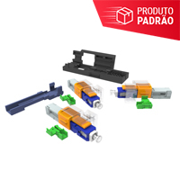 KIT DE 50 CONECTORES OPTICOS DE CAMPO SM SC-UPC EZ! CONNECTOR PARA CABOS FLAT 1.6X2MM E 3X2MM