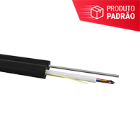 CABO OPTICO DROP FIG.8 FTTH SM 02F COG PR